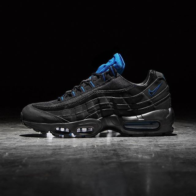 JD Sports x Nike Air Max 95: BlackPhoto Blue | Nike air max 95