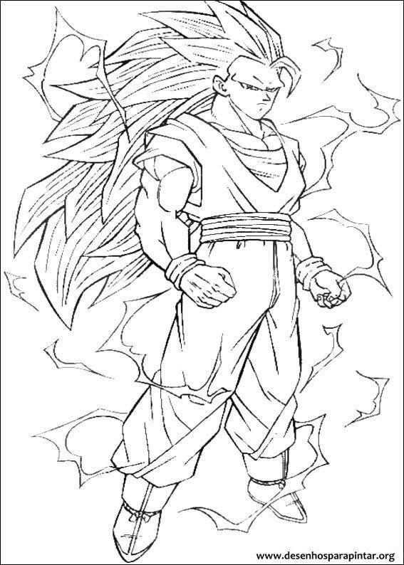 Resultado De Imagem Para Imagens Do Goku Super Sayajin