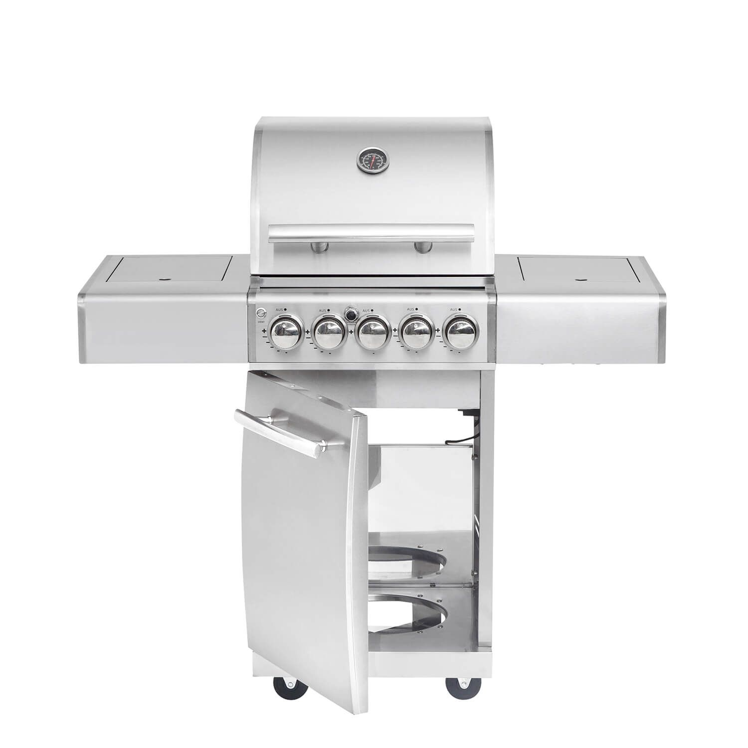 Top Line All Grill Chef S Volledelstahl Gas Grill All Grill Air System Gesamtleistung 17 7 Kw 2 Flammig Abmessung Aufg Gasgrill Edelstahl Grill Grillen