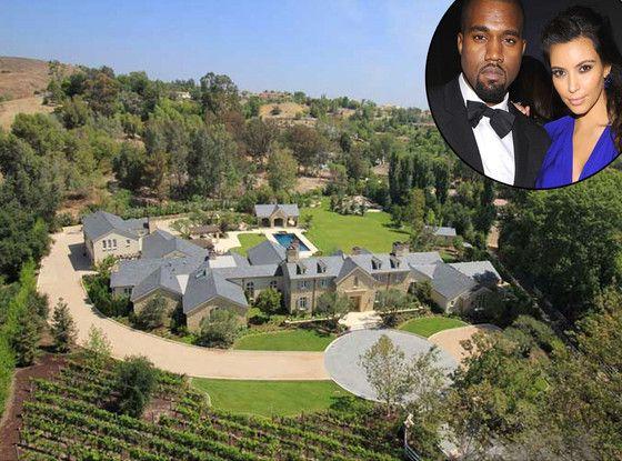 Inside Kimye S 20 Million Dream House See The Pics Kim And Kanye House Celebrity Houses Kardashian Home