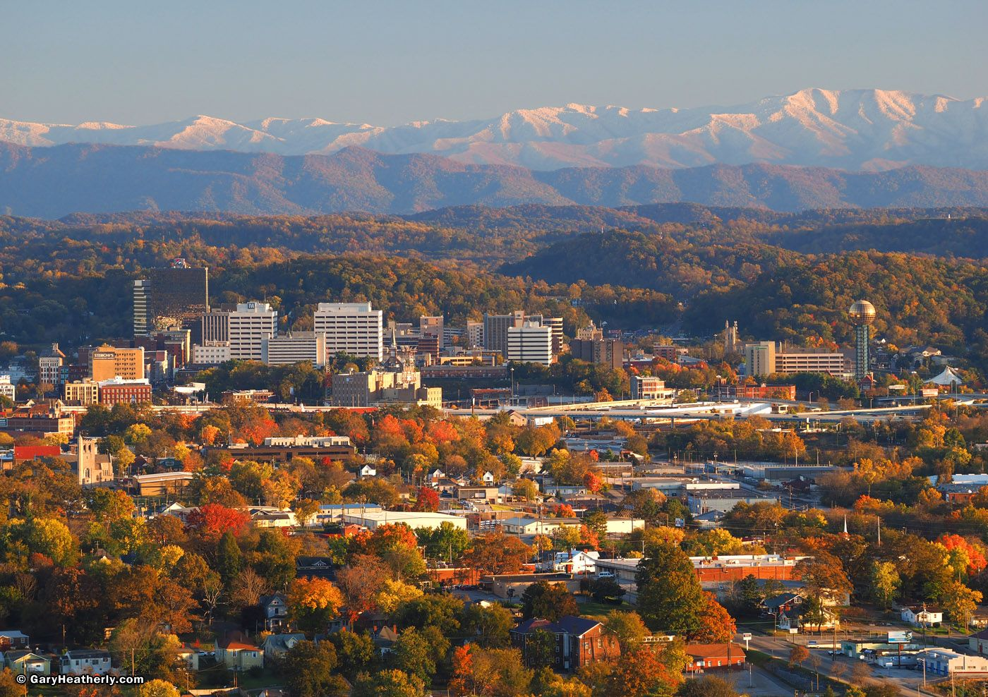 Knoxville Tennessee The Biggest Small Town In East