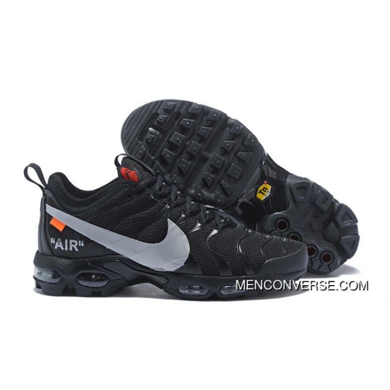 huge discount 8c56f 245e5 Best Price Custom Off-White x Nike Air Max Plus TN Ultra Black   2018 New  Style Air Jordan in 2018   Pinterest   Nike air max, Nike air and Nike