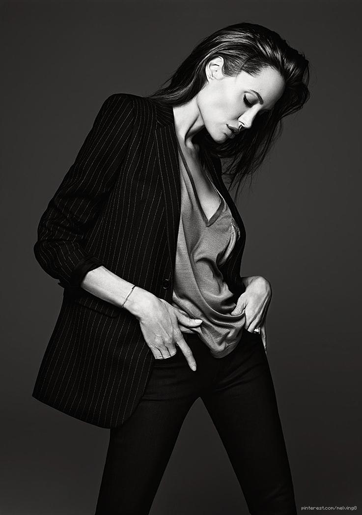 Angelina Jolie by Hedi Slimane • 2014