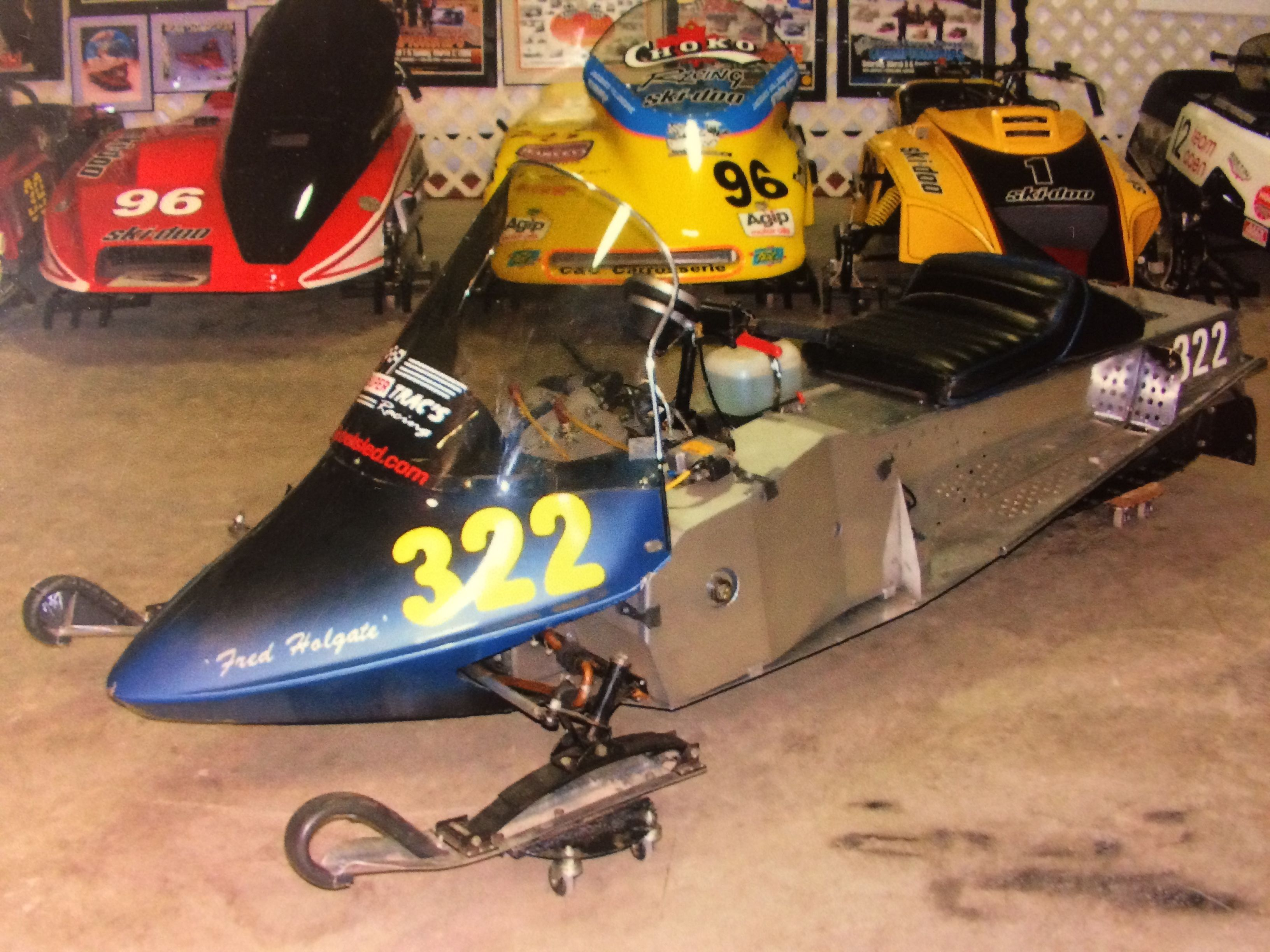 Two Feathers Racing 79 Rotax 440 engine Wahl Brothers drag