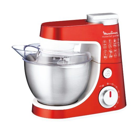 moulinex qa403g01 robot da cucina masterchef gourmet 900w colore rosso moulinex http