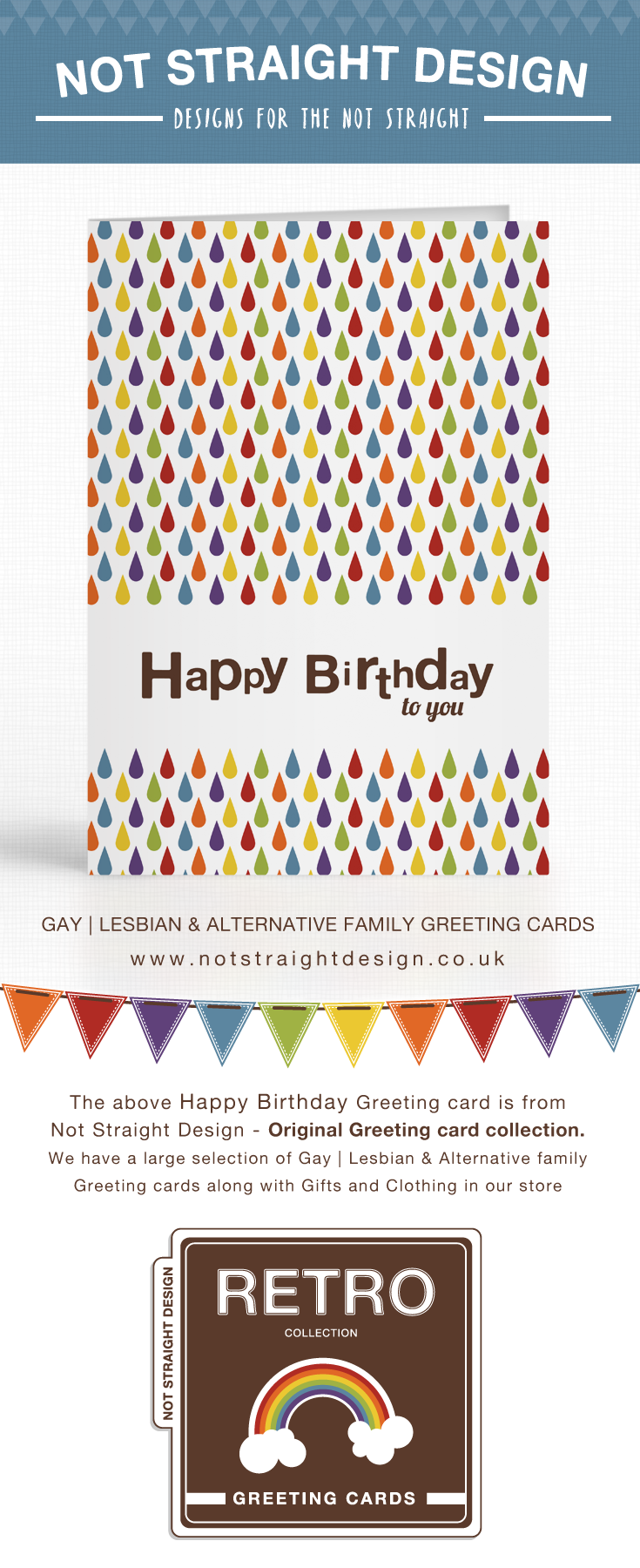 Happy Birthday Greeting Card Available To Buy At Our Zazzle Store Not Straight Design