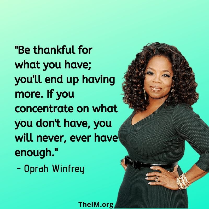 31 Inspirational and Motivational Quotes of Oprah Winfrey
