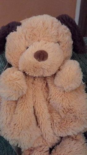 mochila infantil urso de pelúcia