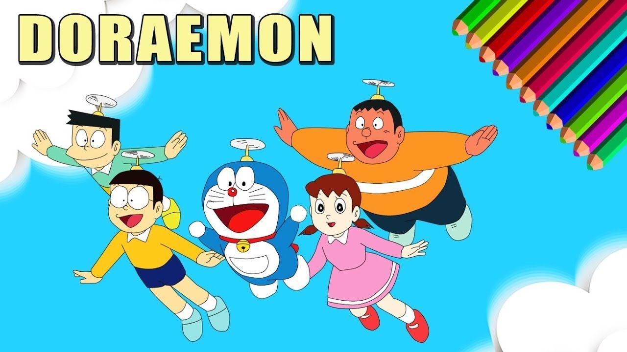 Doraemon Dan Kawan Kawan Let S Draw