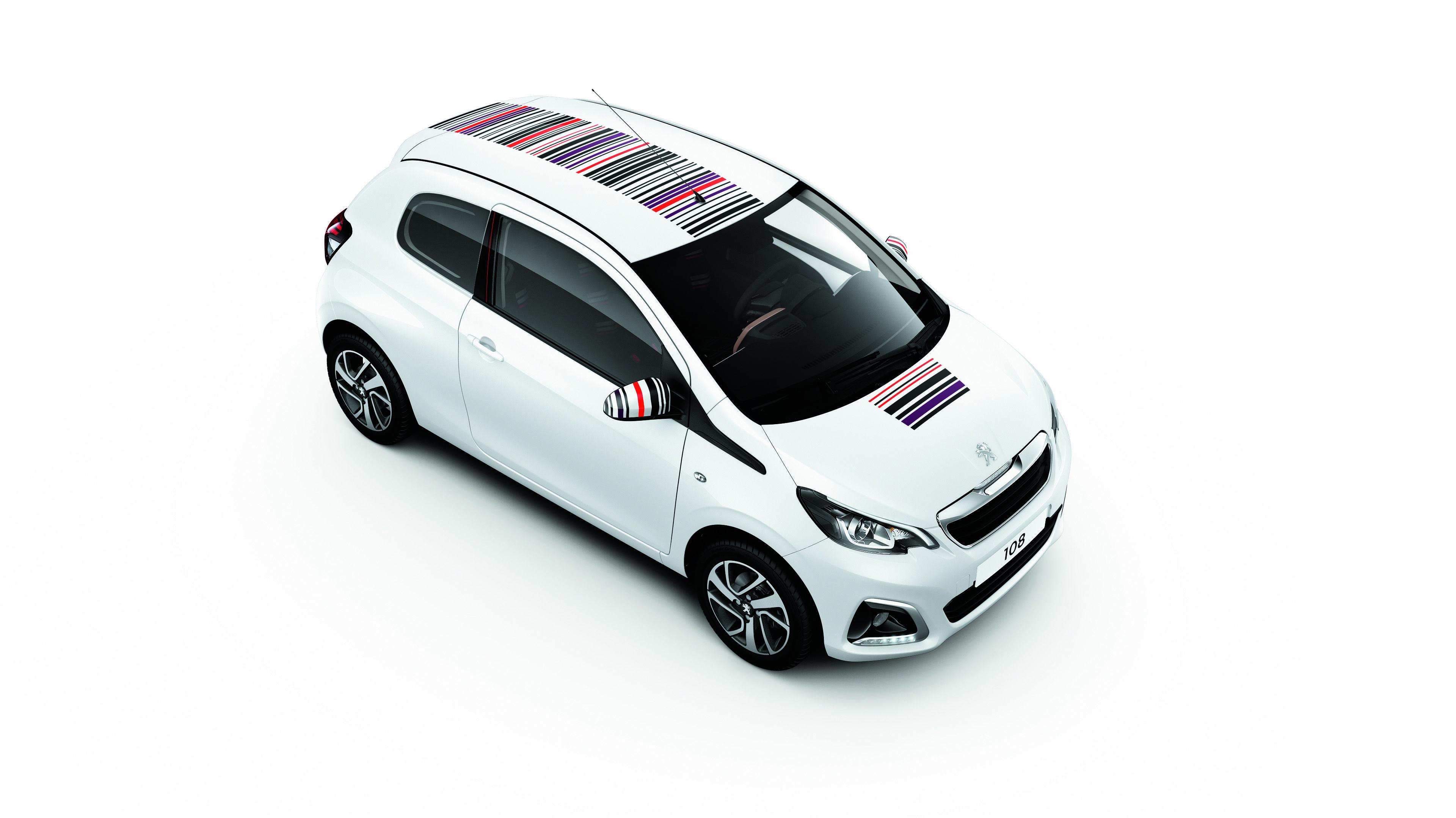 108 City Car Peugeot Super Mini