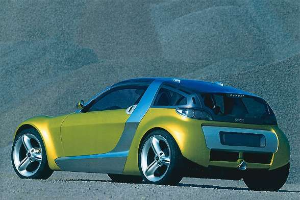 2001 Mercedes Benz Smart Coupe Image