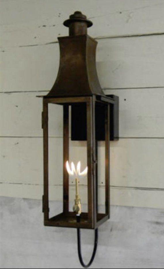 Copper Lantern Pendant Light