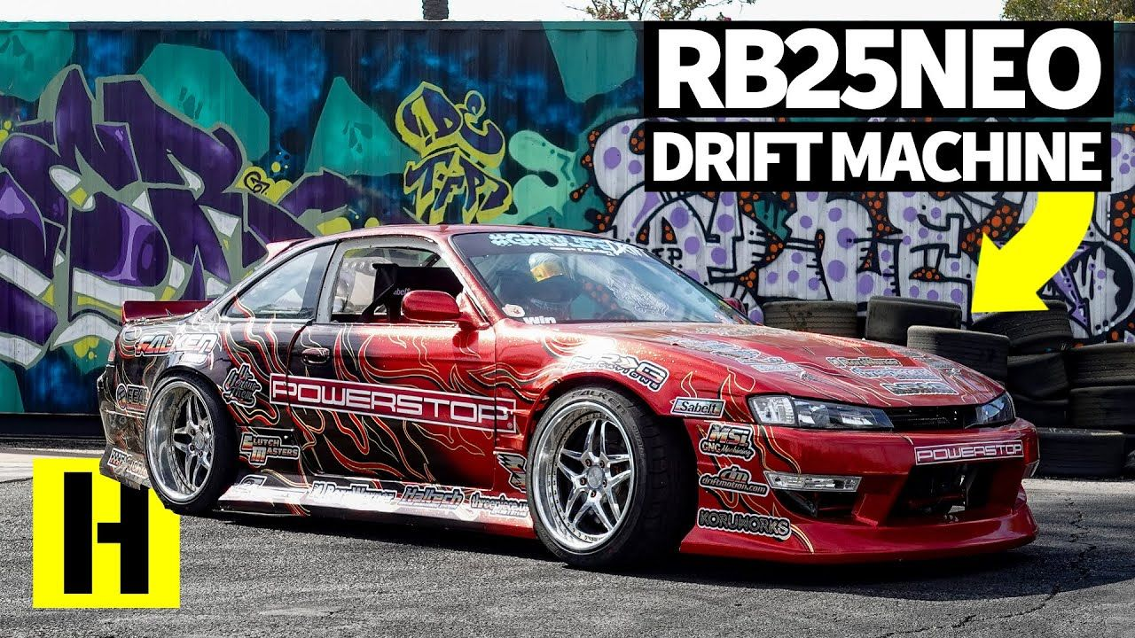 800hp Heavy Flake Paint And Rear Mount Radiator Ryan Litteral S Party Car Heavy Drifting