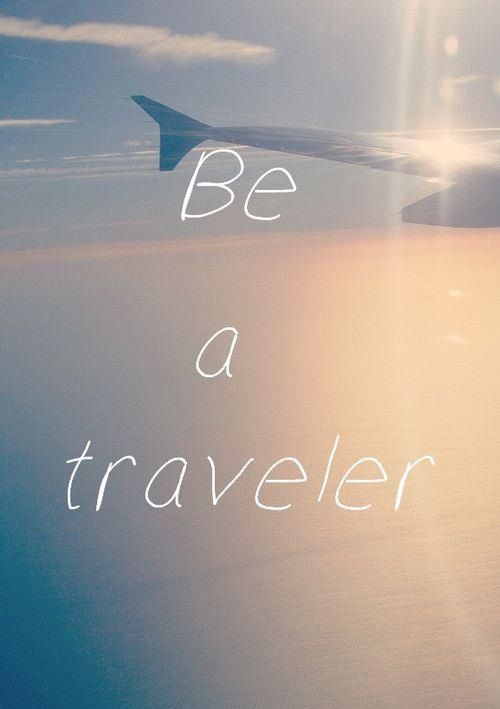 Tão bom viajar...
