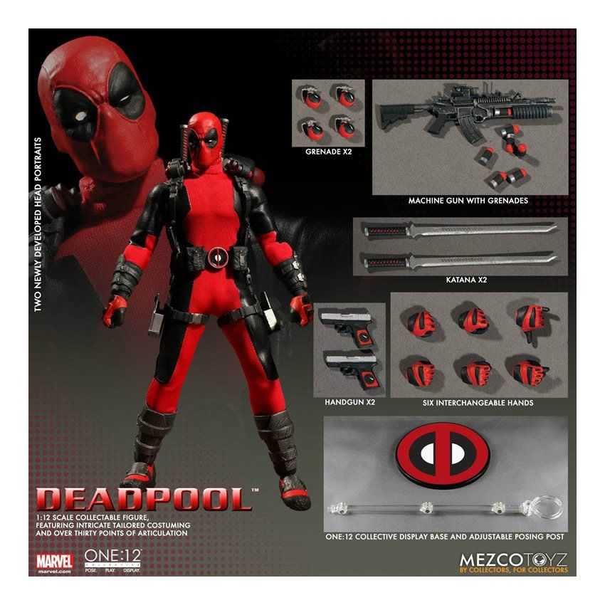 Mezco One:12 Yellow Daredevil Figure Marvel Zoom PX Exclusive Matt Murdock NEW