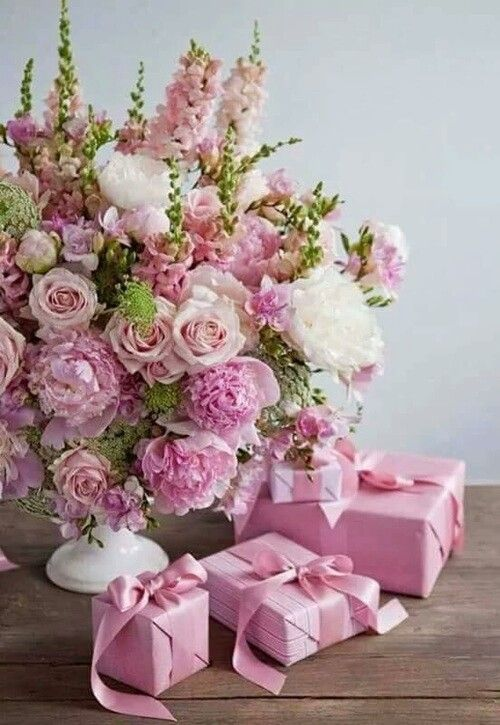 Flores Rosas Pink Flower Arrangements Flowers Bouquet Gift Birthday Flowers Arrangements