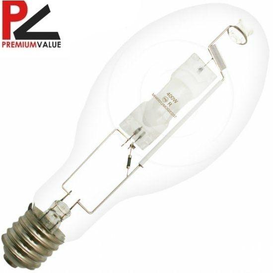 400 Watt Unprotected Arc Metal Halide Light Bulb Electronics Light Bulb Lighting Bulb