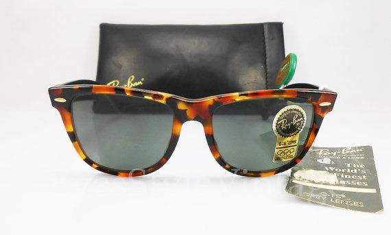 99f584bf61 B L Ray Ban Wayfarer II Limited Deluxe New Old by EyesStyleVintage ...