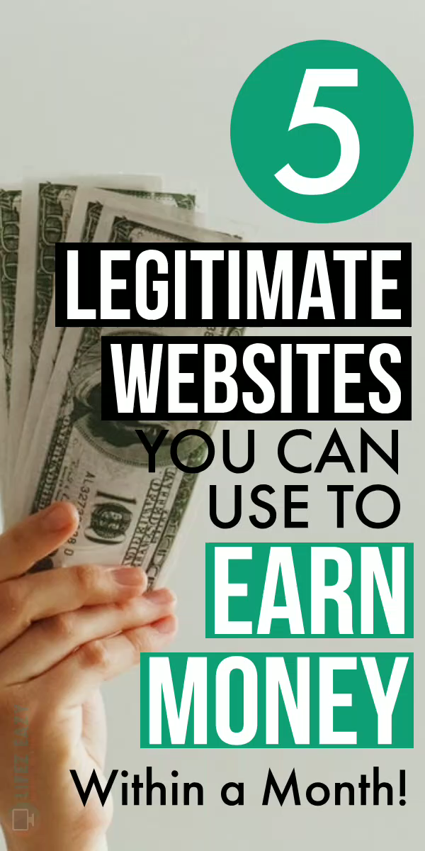 5 Legitimate Websites To Earn Money Online From Ho...