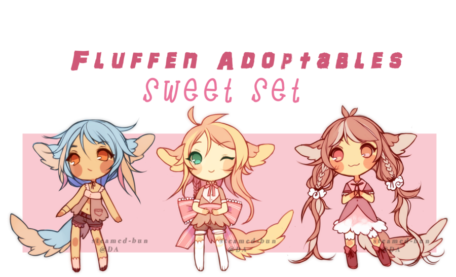 Fluffen Adopts: Sweets! (ENDED) by Steamed-Bun on DeviantArt