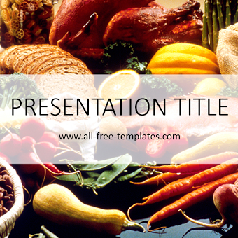 Food powerpoint template powerpoint templates pinterest food powerpoint template toneelgroepblik Images