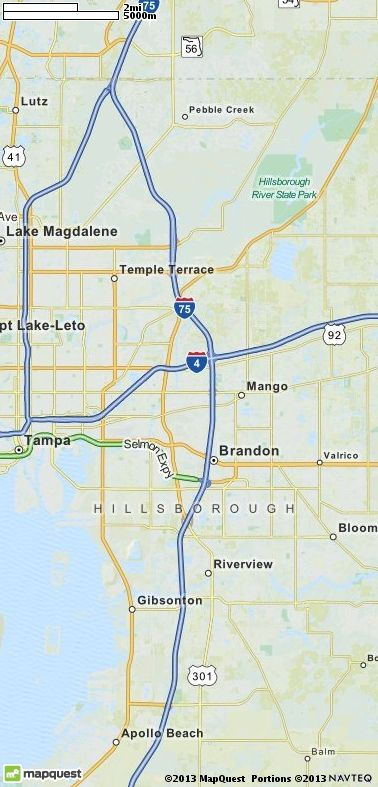 Driving, Walking and Traveling Directions | MapQuest | Tabletop Golf ...