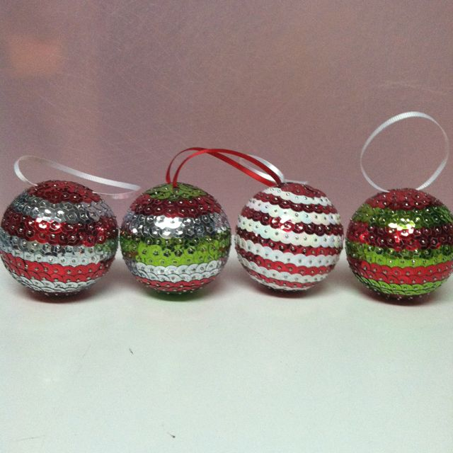 Polystyrene Balls Christmas Decorations Easy Diy Christmas Ornamentsi Make Them With Styrofoam Balls