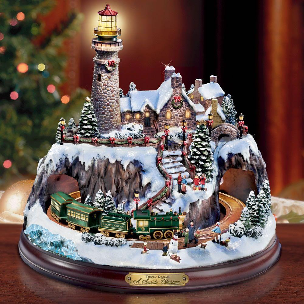 Kinkade christmas ornaments - Thomas Kinkade Christmas Villages