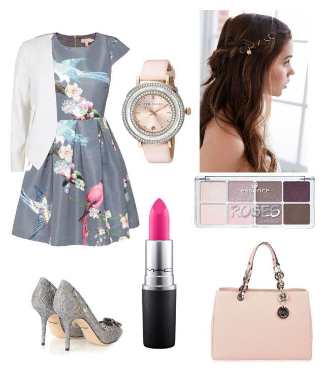 032416C by theresa-bolivar on Polyvore featuring polyvore fashion style Ted Baker River Island Dolce&Gabbana MICHAEL Michael Kors REGALROSE MAC Cosmetics clothing