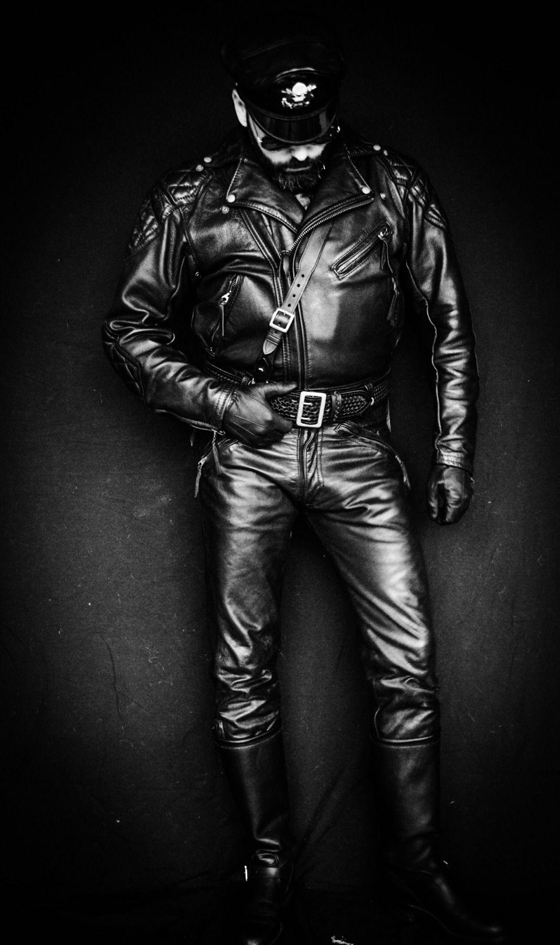 Mens leather gloves adelaide - Oddball Artist Writer Photographer Leatherman Fashion Historian And Biker From Adelaide Leather Glovesleather Menuniformhistorianlollipopsjoseph