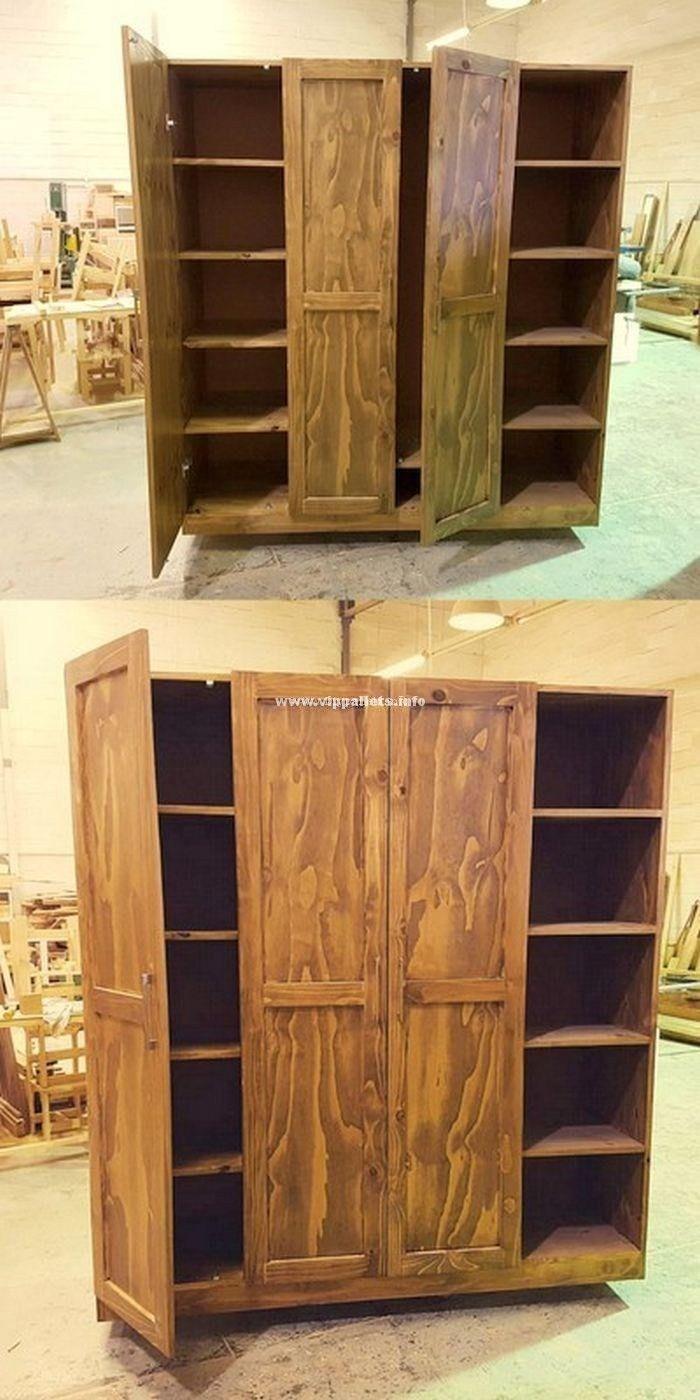 Stylish Wooden Pallets Kitchen Cabinet Ideas | Wooden ...