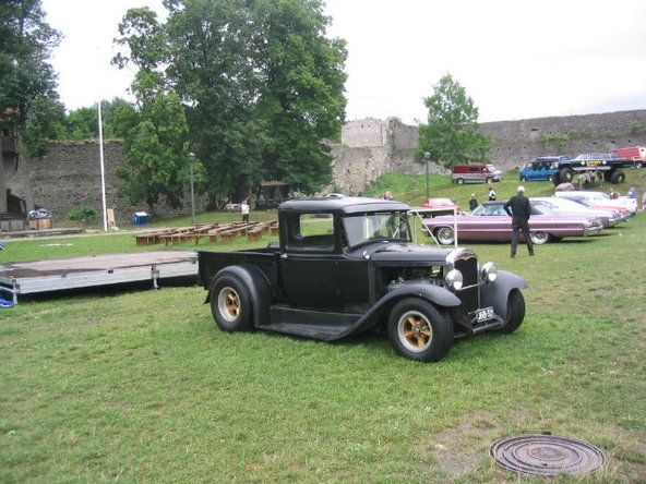 American cars in Finland...Fast Big Block -31 A Ford