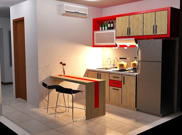 desain dapur apartemen idaman gambar 2 home design