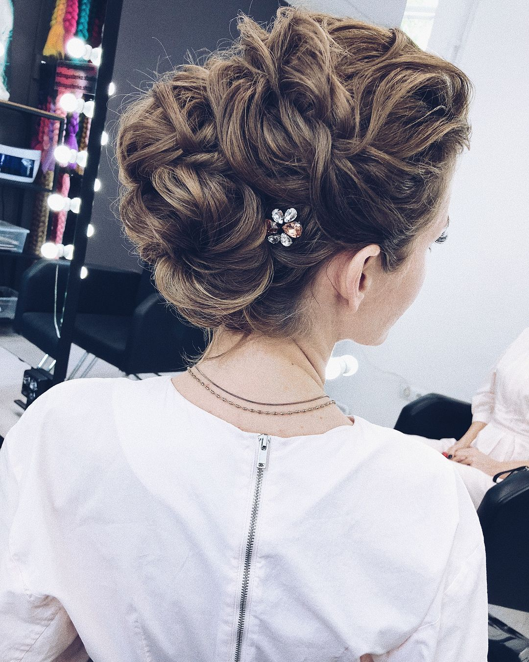 Most Popular Prom Updos For Long Hair Updo Hairstyle Ideas Long Hair Updo Long Hair Styles Hair Styles