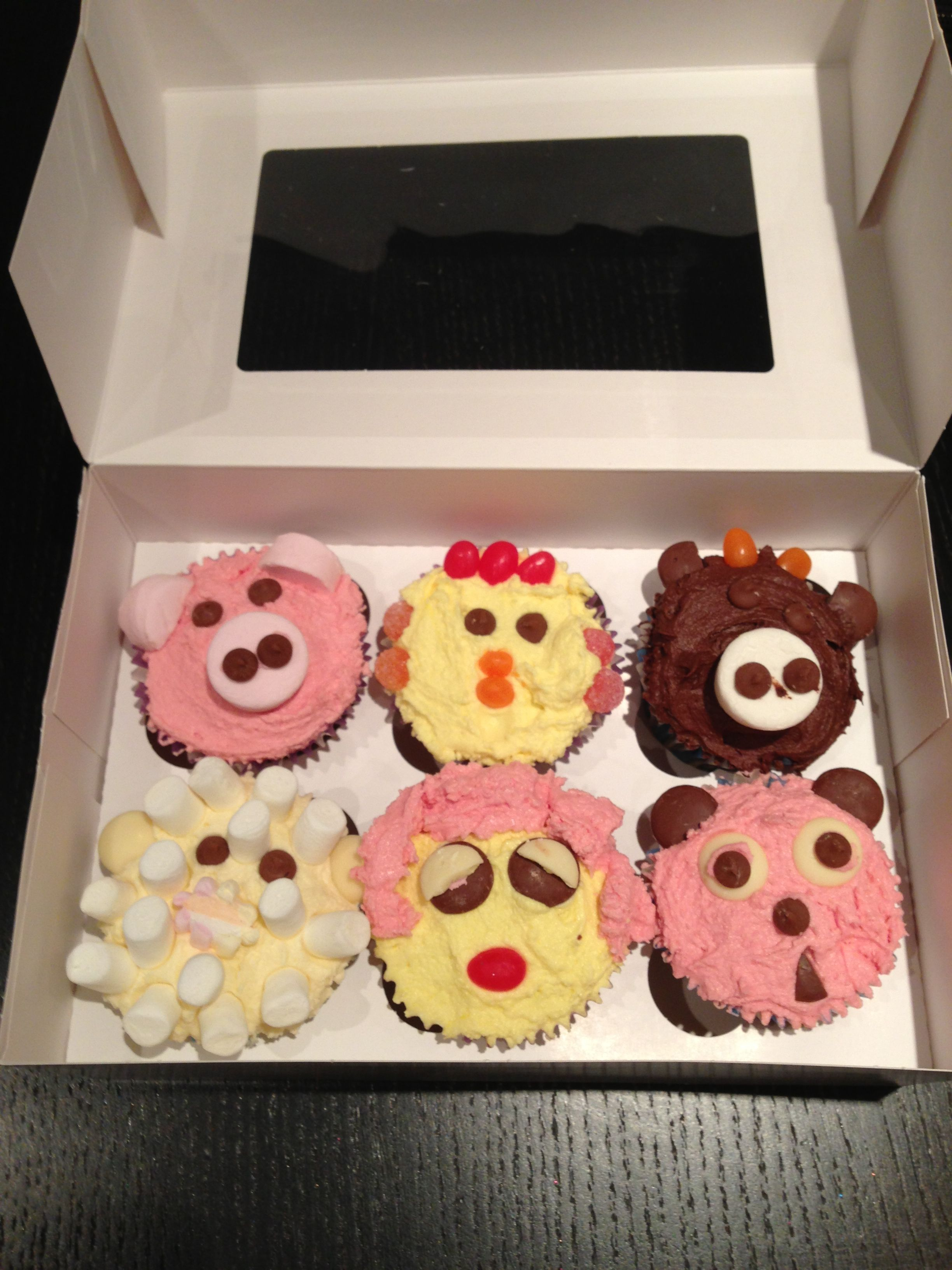 Novelty Cupcakes (by my 7 year old daughter) | Cakealish Cakes ...