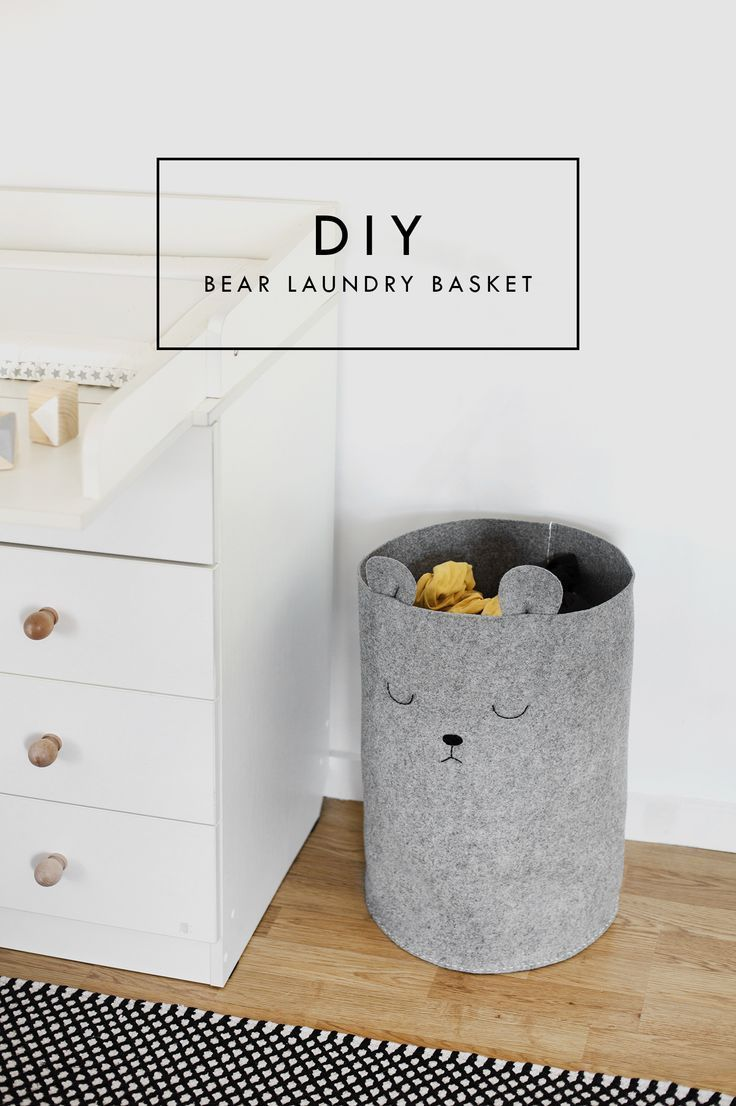 Pretty, Dirty Laundry: A Nursery DIY   The Lovely Drawer