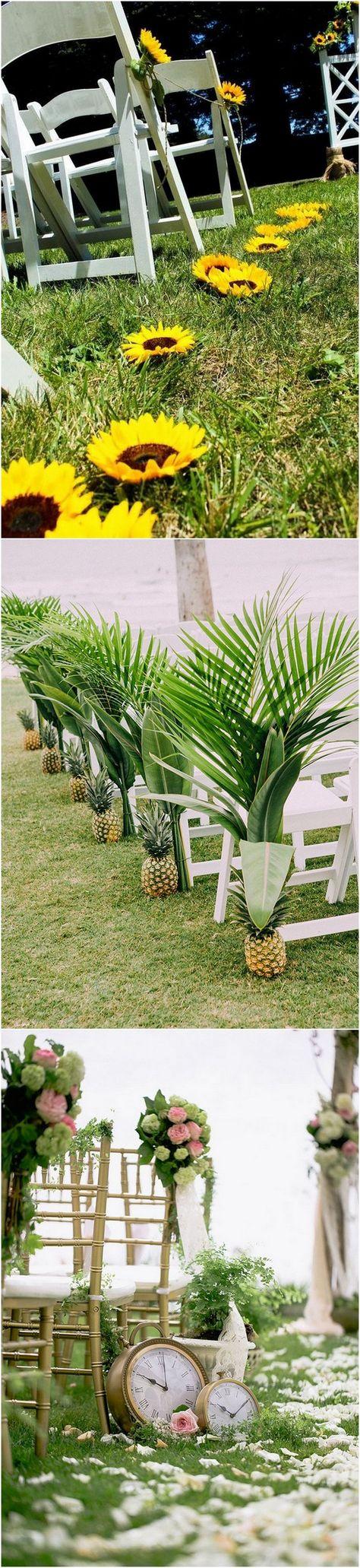 Wedding aisle decor ideas diy   Breathtaking Wedding Aisle Decoration Ideas to Steal  Page  of