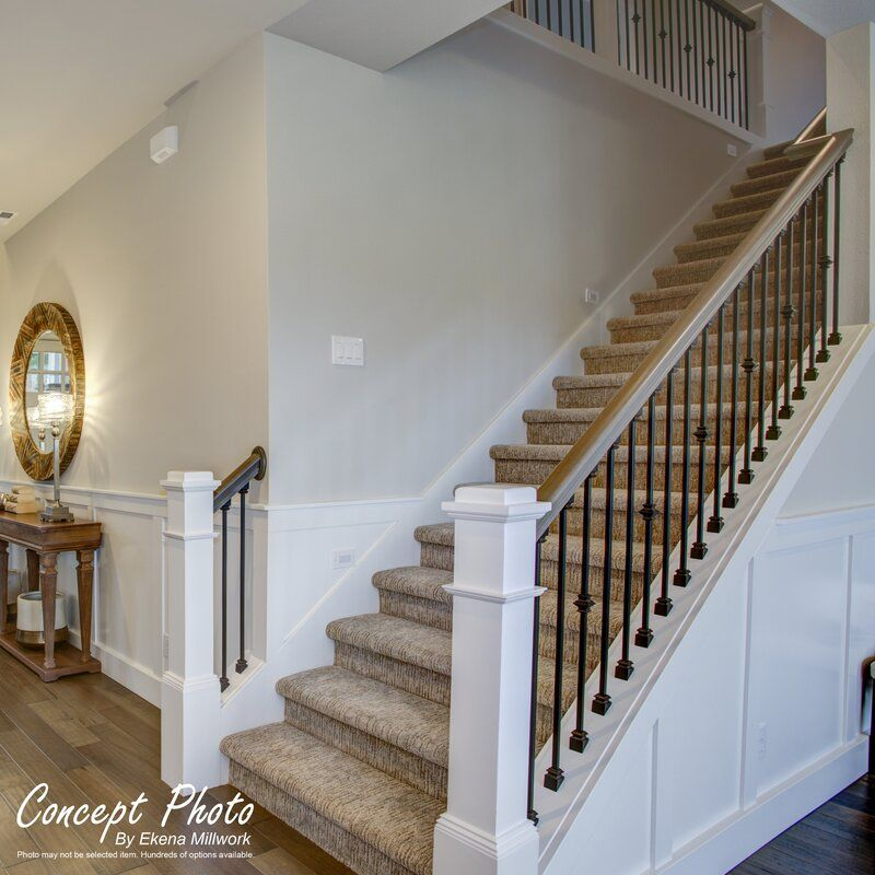 Deluxe Shaker Pvc Wall Paneling In White In 2020 Stair Railing | Deluxe Stair And Railing | Stainless Steel Stairs | Houzz | Barclay Hollywood | Mg Alloy | Interior Stair