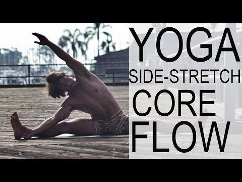 1 Hr Yoga Core Flow Side Stretch Class - Yoga With Tim Senesi - YouTube