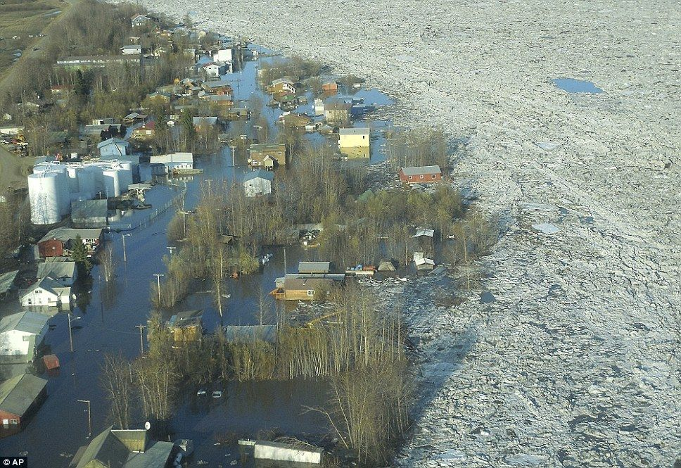 Thirtymile long ice jam causes devastating floods in