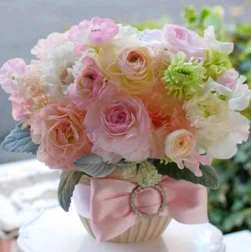 Beautiful Floral Arrangements beautiful floral arrangement spring pink flowers roses bouquet