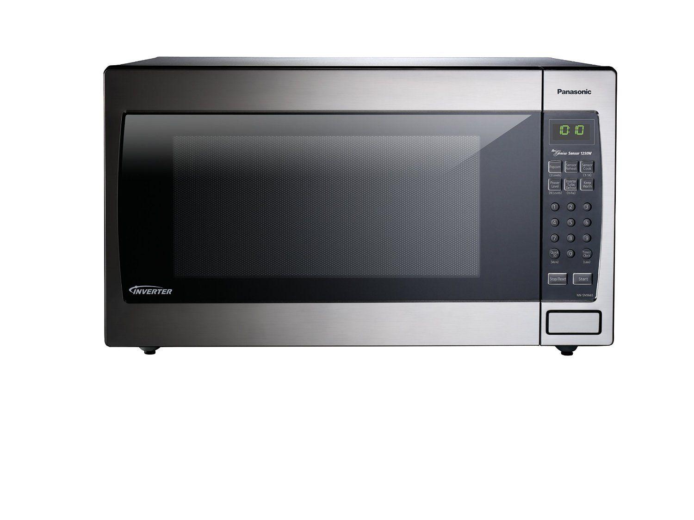 Amazon Com Panasonic Nn Sn966s Countertop X2f Built In Microwave