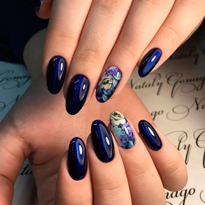 Oval Nail Art, Oval Nails, Oval Shaped Nails, Short Nail Designs, Nail - Best Ideas To Make Your Oval Nails Even More Gorgeous Nails I Like