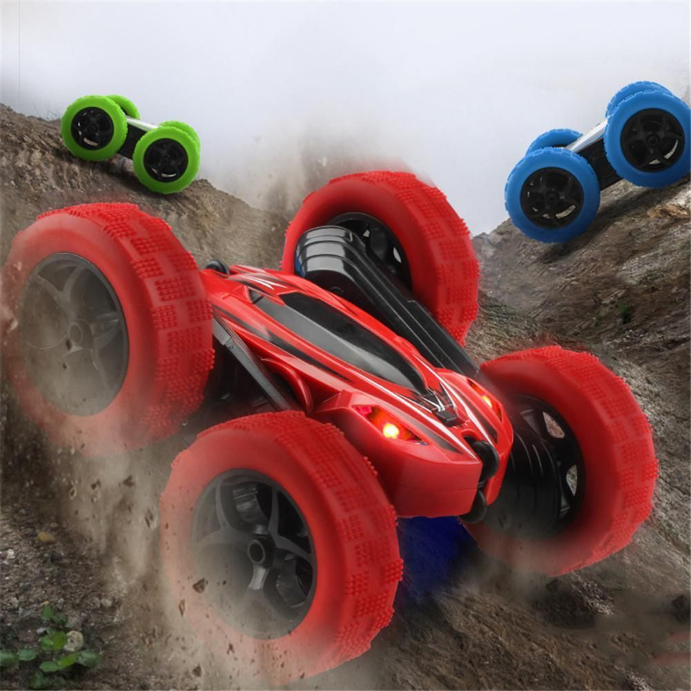 Double Sided Stunt Car In 2020 Car Toy Car Rc Cars