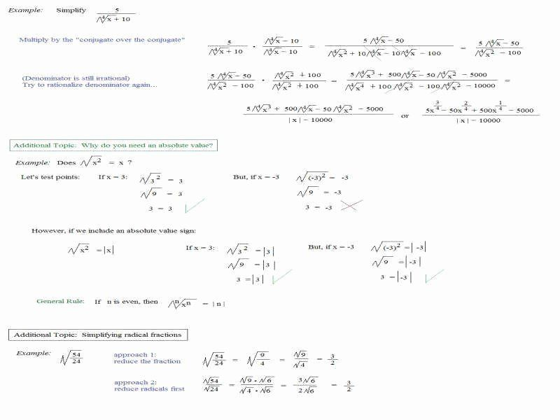 Multiply Radical Expressions Worksheet Beautiful Rationalizing The