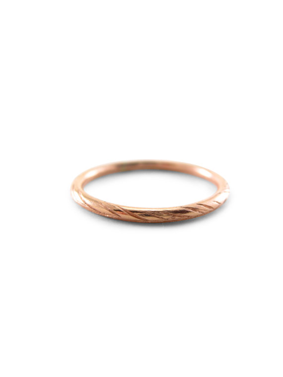 489d50b3fecb Strong, lithe and graceful, the willow tree bends and sways in the breeze.  Creating this sweet, ethereal and subtle wedding ring is a joy.