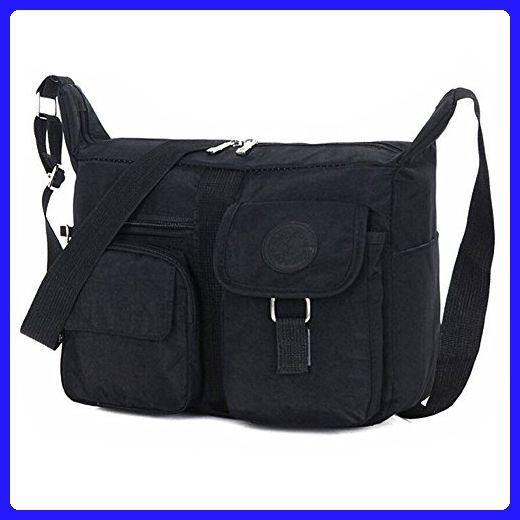 Nylon Cross Over Body Bag Ladies Shoulder Handbag Purse Women Messenger Tote