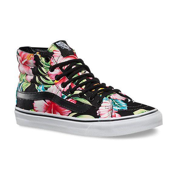 Hawaiian Floral SK8-Hi Slim | Vans CA