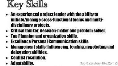 Job Skills To Put On A Resume Resume Skills Resume Examples List Of Skills