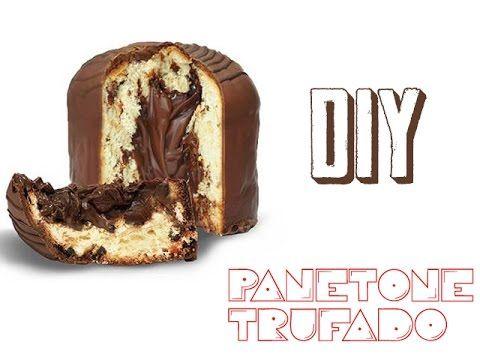 DIY - Panetone Trufado #Manual Chique